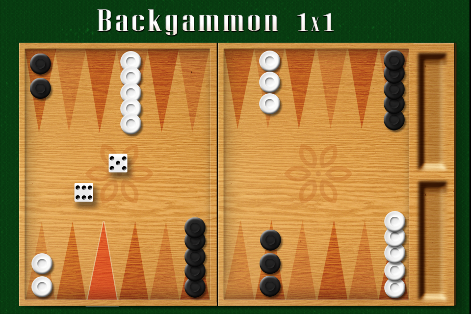 Screenshot Backgammon 1×1